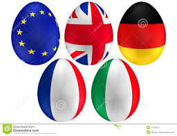 easter egg flag of italy stock images image 5179754