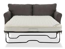 la z boy leah premier supreme comfort gray full sleeper sofa