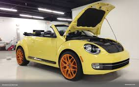 yellow volkswagen convertible vwvortex com vwvortex beetle convertible project