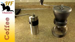 Burr Mill Coffee Grinder Reviews Hario Ceramic Coffee Mill Skerton Review Youtube