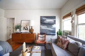 house tour a neutral 400 square foot la studio apartment therapy