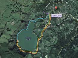 Azores Map Hiking And Unvolutary Wading Around U2013 And Through U2013 Furnas Lake