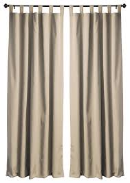 2 Tone Curtains Twill Blackout Two Tone Reversible Curtain Panels Set Of 2 Aqua