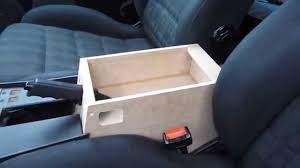 how to build a car center console armrest part 14 2 youtube