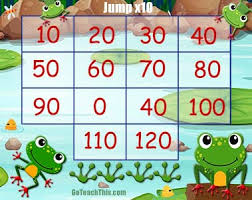Multiplication Table Games by Jump X10 A Multiplication Game For The Ten Times Tables