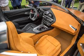 mileti industries bmw concept z4 hits the lawn at pebble beach
