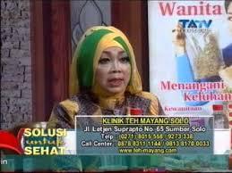 Teh Mayang web tatv solusi untuk sehat klinik teh mayang 200514 segmen1