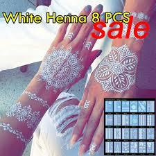 white henna tattoo non toxic temporary tattoo luxuriant