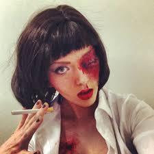 mia wallace costume makeup mugeek vidalondon