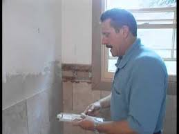 Wainscoting Over Tile Wainscoting With The Tile Doctor Youtube