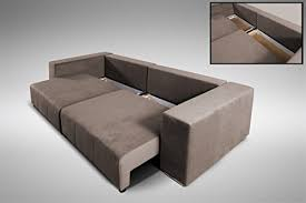 big sofa mit bettkasten modernes schlafsofa sofa big sofa in braun schlaffunktion