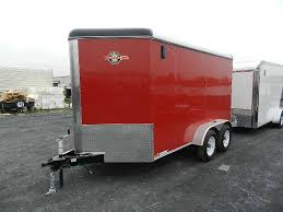 Red Barn Trailers Carry On 6 X 12 V Nose Enclosed Cargo Trailer Barn Doors