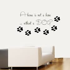 paw print printable quotes print printable coloring pages free aliexpress com buy pet shop vinyl wall decal dog quote paw