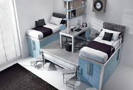 cool bedroom design ideas sleek white flooring grey tufted bed