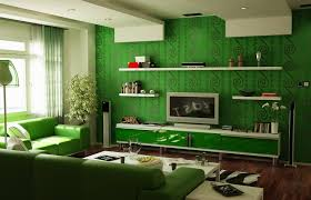 Green Interior Designs Green Interior Design Ideas The Most - Green living room design