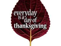 everyday is a day of thanksgiving woodland church sermons