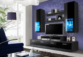 Living Room Furniture For Tv Living Room Modern U0026 Contemporary Wall Units Tv Cabinets Fs Inspire