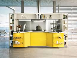 picture of l shapped kitchen remodel yellow color with island idolza