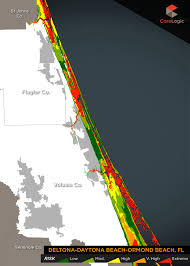 Ormond Beach Florida Map by 2015 Storm Surge Maps