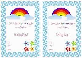caillou birthday invitations rainbow birthday invitations u2013 birthday printable