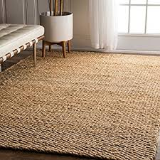 jute rug nuloom natura collection hailey jute fibers