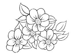 coloriage ã dessiner frise fleurs