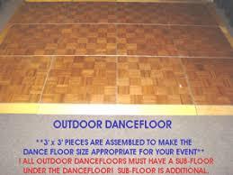 outdoor floor rental floor 3 x 3 outdoor special event wedding and party