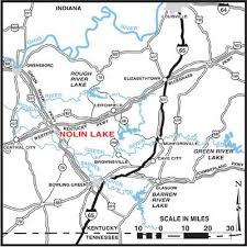map kentucky lakes rivers history of nolin river kentucky