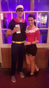 Popeye Halloween Costume Easy Diy Popeye Olive Oyl Couple Costume Costume