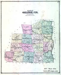 Orange County Florida Map by Vermont County Map