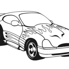 coloring pages fast cars archives mente beta complete