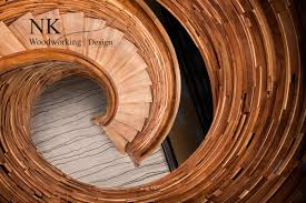 Radius Stairs by Custom Staircases Stair Design Curved Stairs By Nk Woodworking