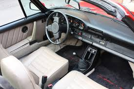 porsche 911 interior beautiful 1984 porsche 911 targa guards red with tan interior
