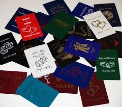 custom wedding playing cards admagic