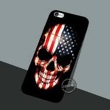 American Flag Skull American Flag Wallpaper Iphone 7 Plus 5 Se Cases U0026 Covers Art