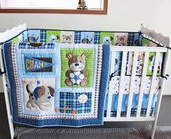 Baby Boy Cot Bedding Sets Promotion 5pcs Embroidery Baby Boy Crib Bedding Sets Crib Cot Set
