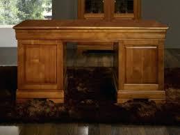 bureau louis philippe merisier bureau en bois massif bureau ministre 9 tiroirs zoac en merisier