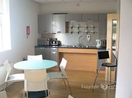 white and grey modern kitchen adorable office kitchens design break rooms with round white table