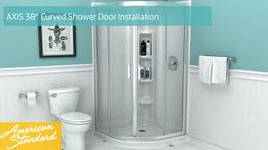 38 Shower Door How To Install American Standard Axis 38 Curved Shower Door