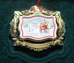 collecting white house ornaments