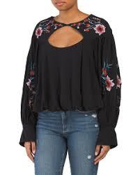 womens black blouse s tops t j maxx