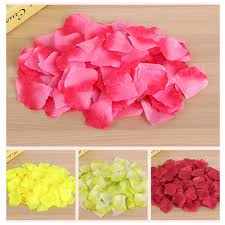 Rose Petal Table Cloth Compare Prices On Rose Petals Artificial Online Shopping Buy Low