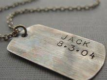 customized dog tag necklace personalized dog tag necklaces accordion necklace
