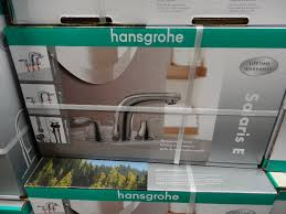 hansgrohe kitchen faucet costco hansgrohe solaris e chrome bath faucet