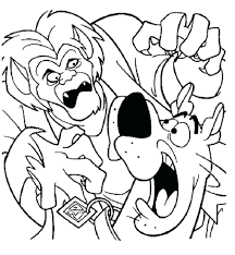 scooby doo colouring pages free print printable christmas coloring