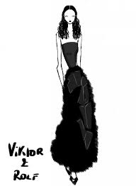 artist rei nadal sketches live from the show viktor u0026 rolf
