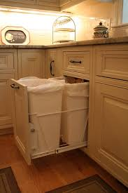 Kitchen Garbage Cabinet Where Do You Keep Your Kitchen Garbage Receptacle