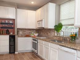 Backsplash Ideas For Kitchens With Granite Countertops Kitchen Kitchen Brick Backsplash Ideas Awesome Sink Faucet Brick