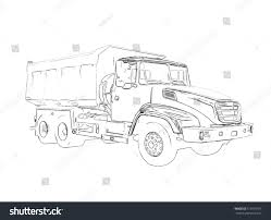 jeep philippines drawing outlines big lorry stock illustration 515973103 shutterstock