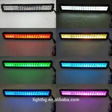 20 Led Light Bar by 5d Rgb Led Light Bar 20 Inch 120w For Car Light 5d Led Bar Buy
